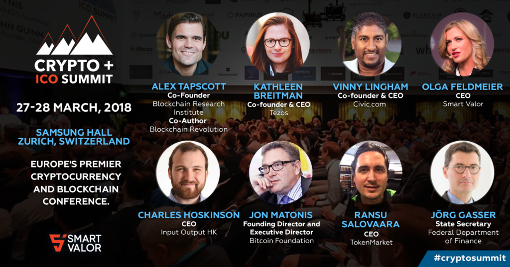 Event Calendar Crypto : Discount for crypto summit valley association